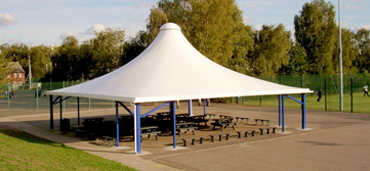conical tensile structure